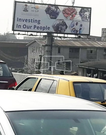 Unipole Billboard - Mobolaji Bank Anthony Way, Ikeja
