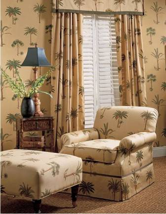 Palm Tree Theme  Vacation Home Interiors
