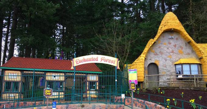 Things To Do In Salem Oregon Enchanted Forest