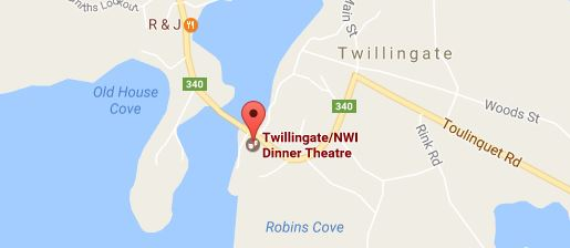 Dinner Theatre Map