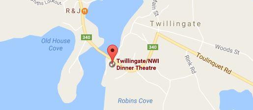 Dinner Theatre Map
