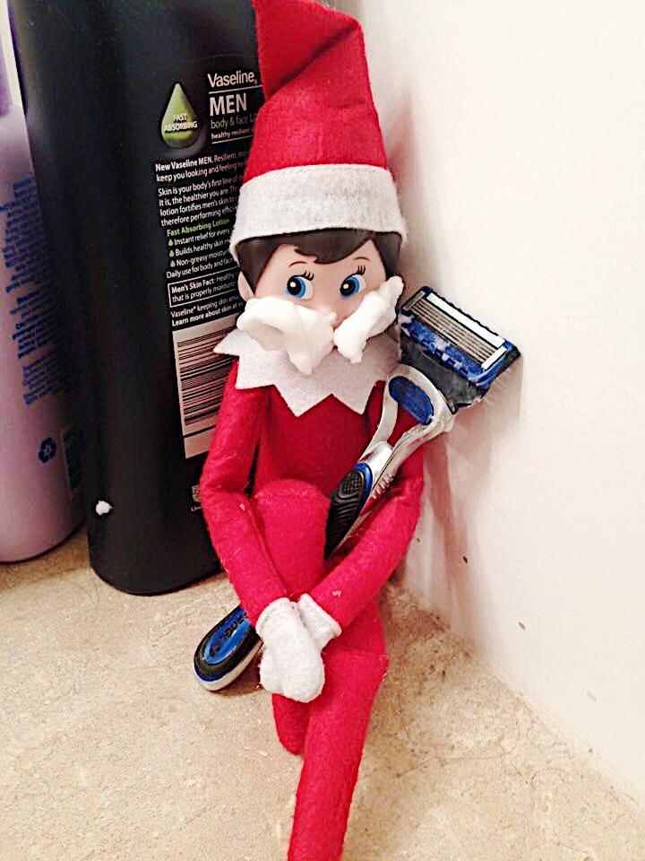 Elf on the freakin shelf!