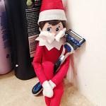 Elf on a shelf Maine Blogger