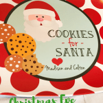 Christmas Eve Traditions Maine Blogger cookies for santa