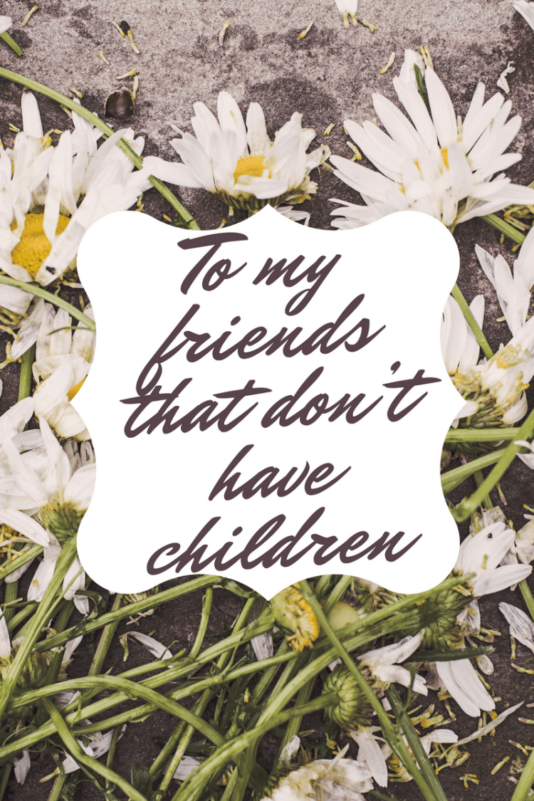 To My Friends That don't have children… I am sorry.