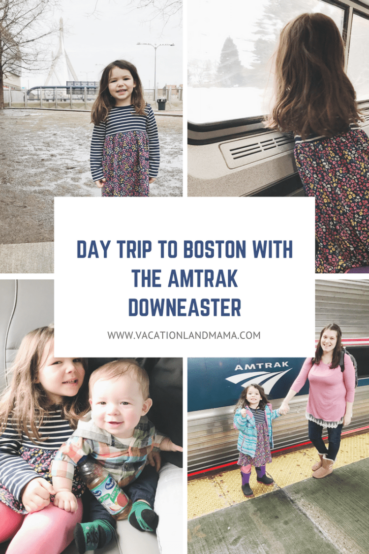 Boston Day Trip on the Amtrak Downeaster