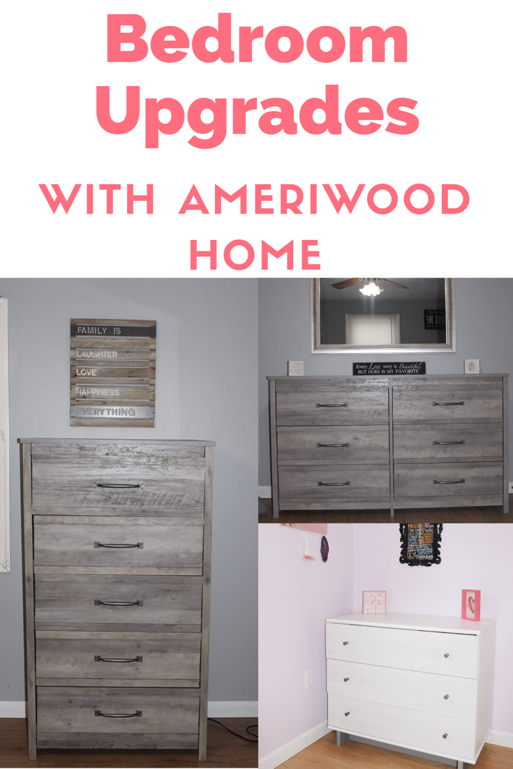 Upgrading with Ameriwood Home