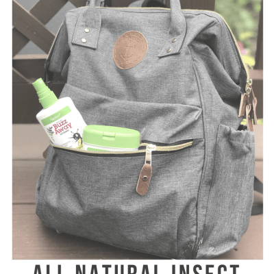 Natural Insect Repellent featuring Buzz Away Extreme