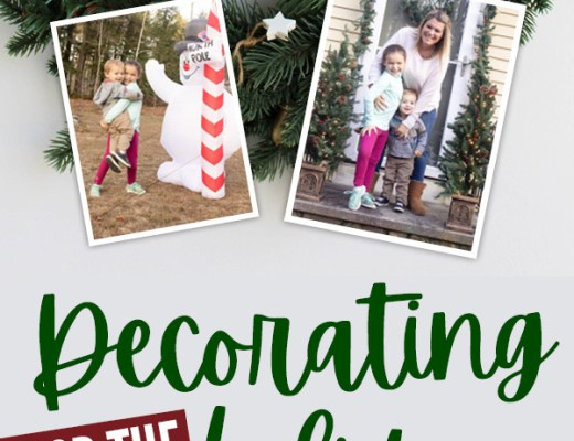 Decorating for the holidays with Bj's wholesale club