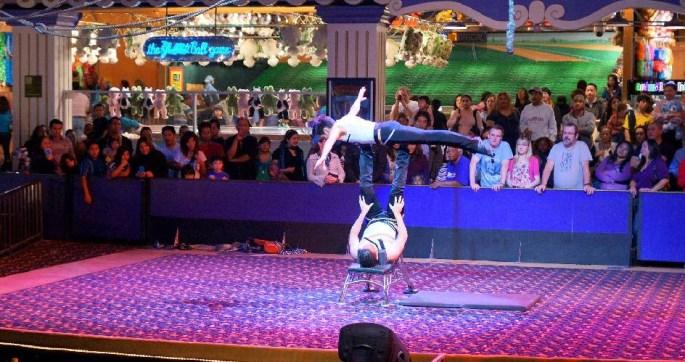 Circus Circus Las Vegas show