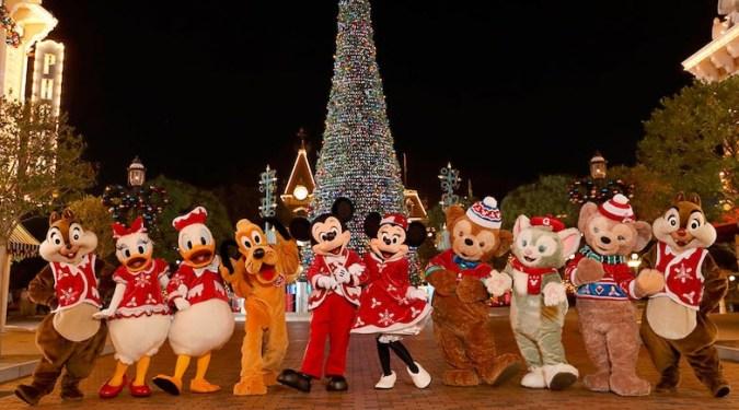 Christmas Day Disneyland