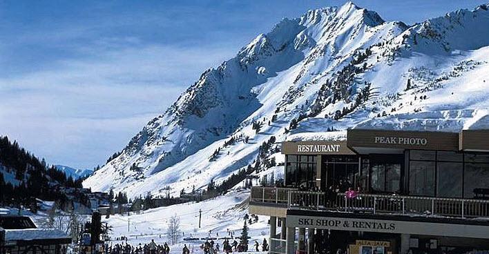 Alta Ski Area resort in Utah