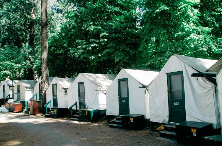 Yosemite National Park Campgrounds on Summer