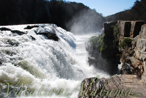 High Falls Park Dekalb County Alabama  VacationsAlabamacom
