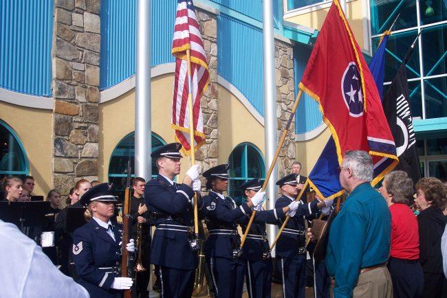 Veteran's Day Celebration in Gatlinburg