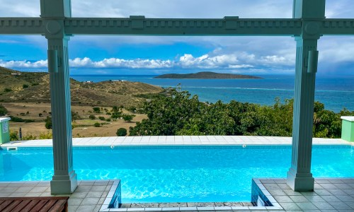 Amonoka View and Pool St Croix Vacation Villa