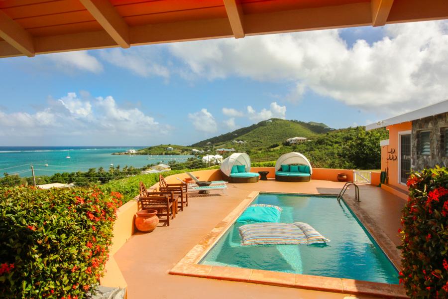 Vista Paradise St Croix Family Vacation Villa Pool