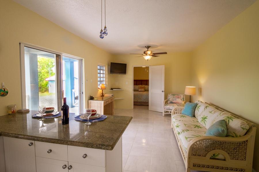 seaview apartment living area