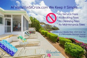 Vacation St Croix No Service Fees