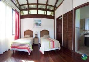 Kenaki Lodge Two Bed Bedroom