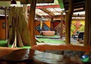 Tree House Lodge Costa Rica Crystal House Interior