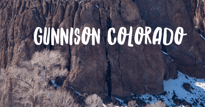 things to do in gunnison colorado