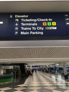 How to get to the Blue Line from O'Hare