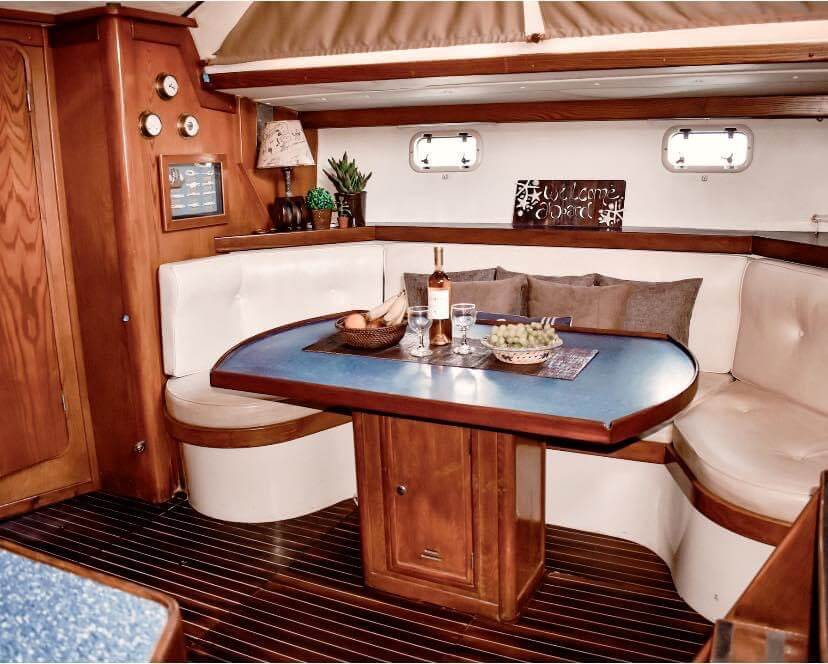 sailing charter yacht