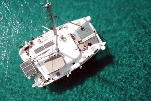 luxury catamaran rental greece