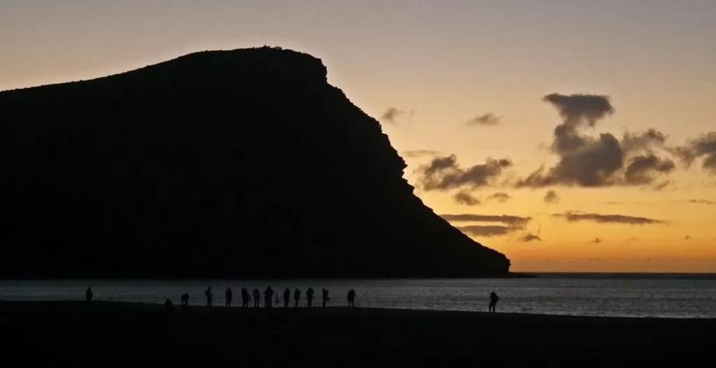 tenerife sunrise