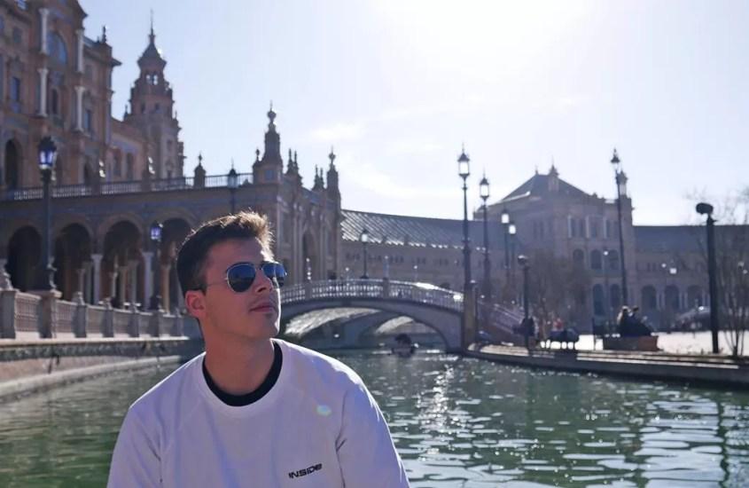 Plaza de España, Sewilla – jak wypożyczyć łódkę?