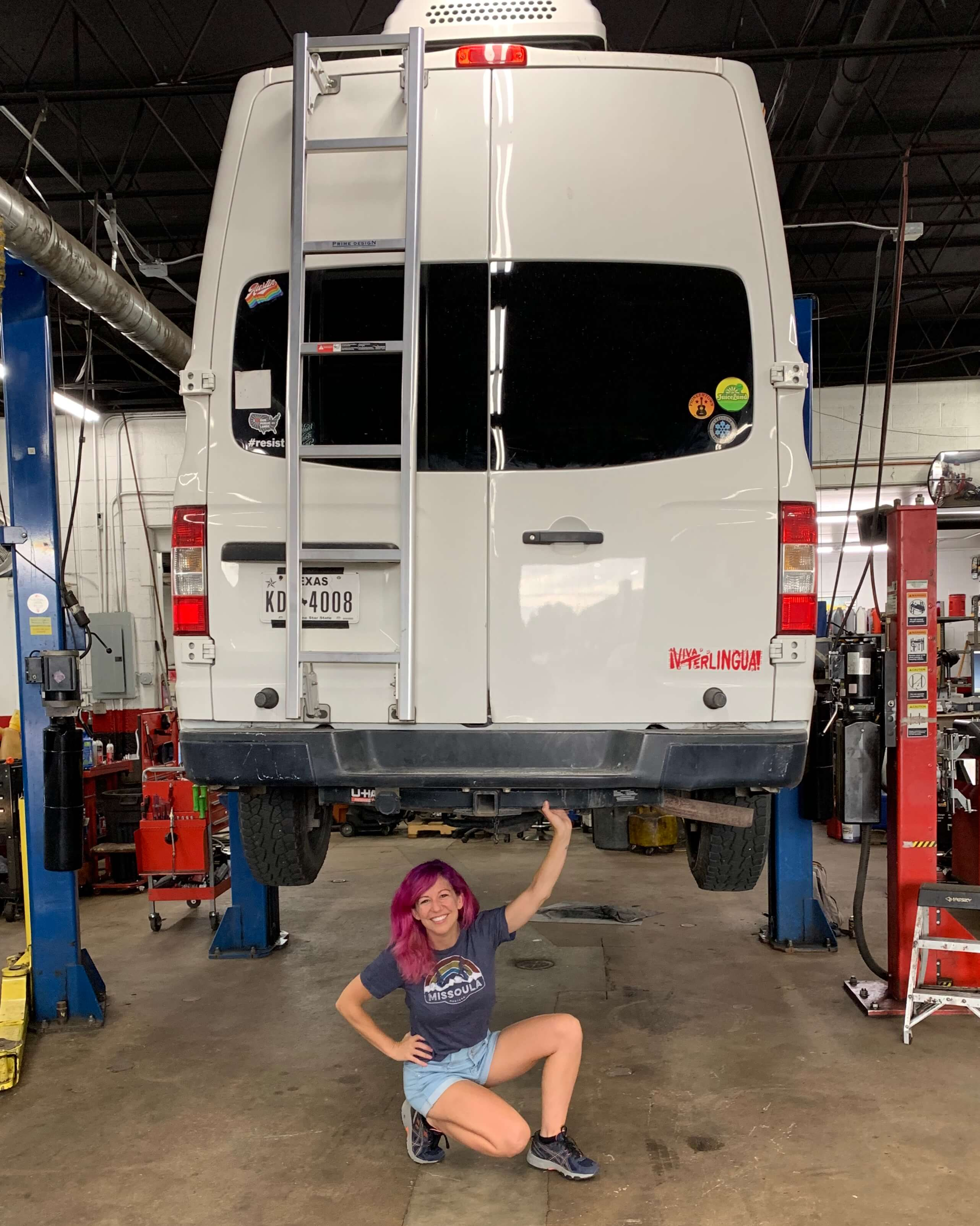 how to find a female friendly van life mechanic Elder Auto in Denver