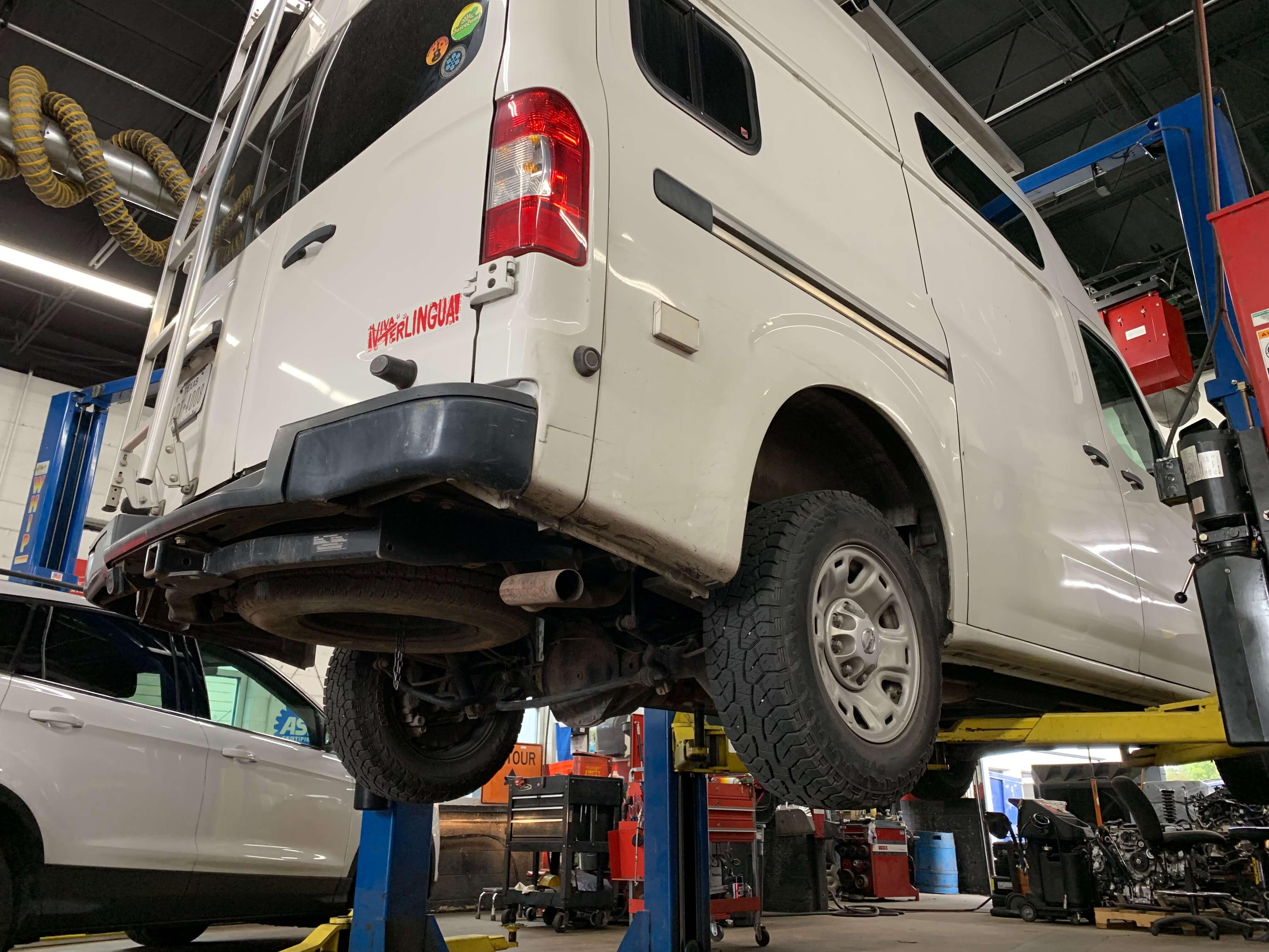 best nissan nv2500 camper van repair mechanic