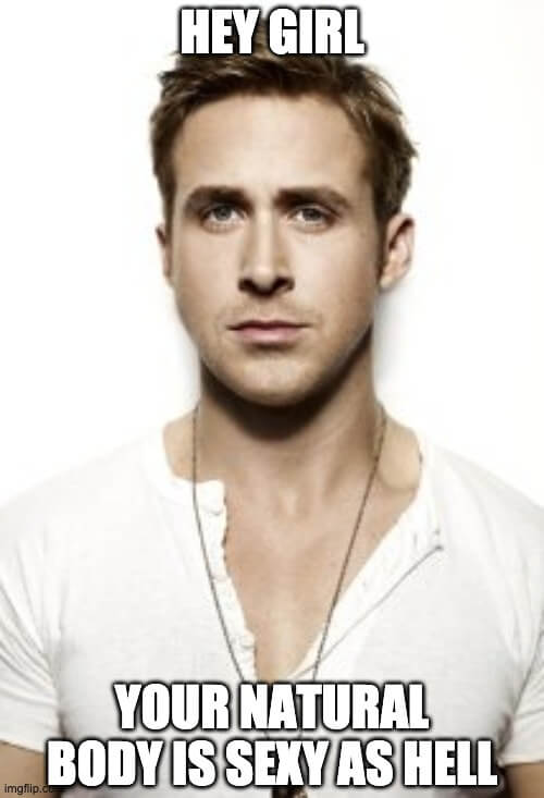 ryan gosling meme don't get breast implants truth about breast removal surgery