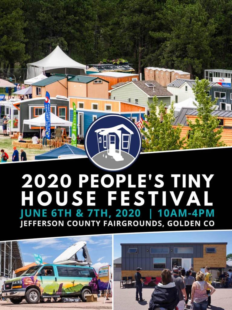 Complete Guide to 2020 Tiny House Events Vacay Vans People's Tiny House Festival in Golden, Colorado