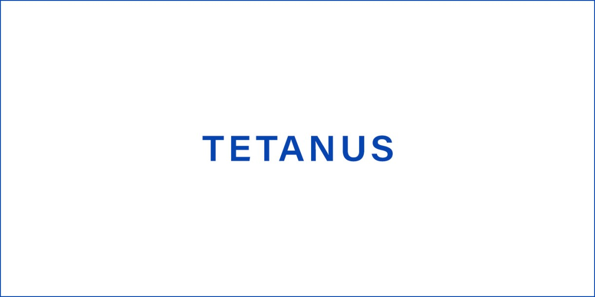 Tetanus (Lockjaw)