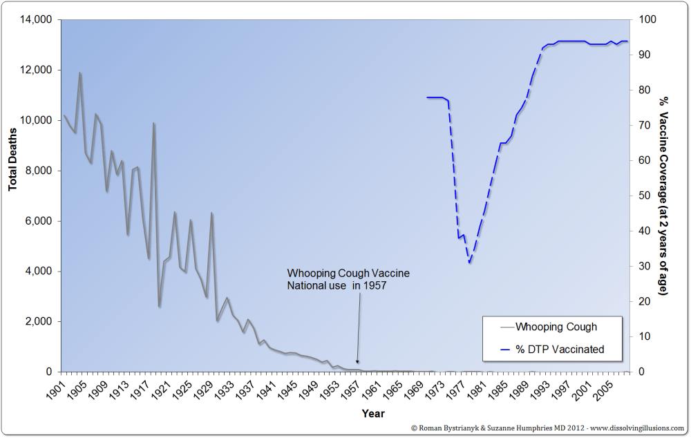 medium resolution of 75 drop in pertussis deaths before dpt licensed in 1949
