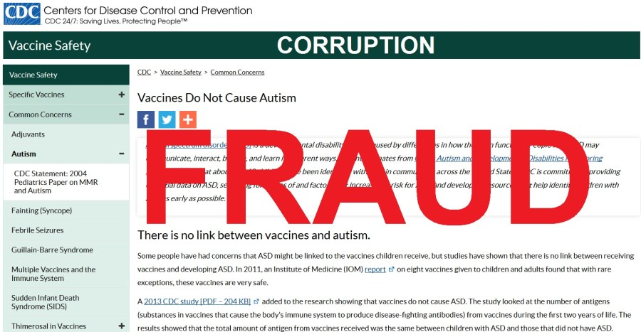 CDC Fraud Corruption