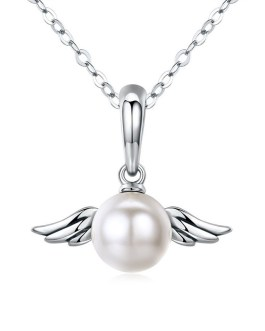 Angel Wings - Pearl Necklace