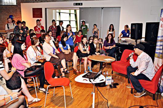 diákújságírók díjátadása - közönségtalálkozó Vujity Tvrtkoval-530