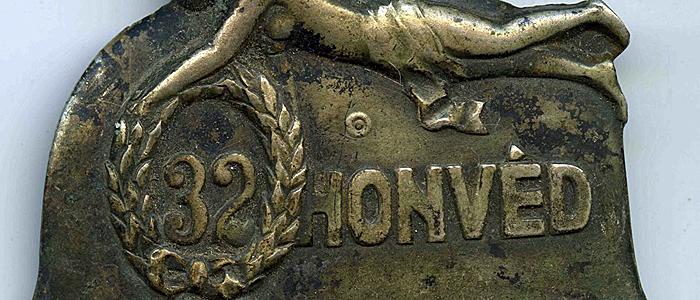 32-es honvéd első világháborús jelvény-700