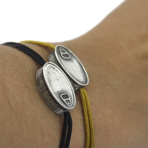 Original adjustable silver bracelet