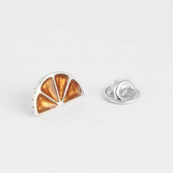 silver pin orange