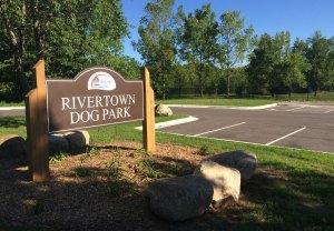 Rivertown Dog Park Sign