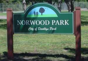 Norwood Park Entrance Sign