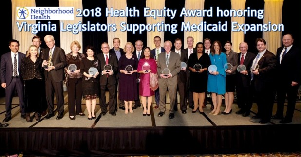 Group Photo of the Health Equity Award honorees