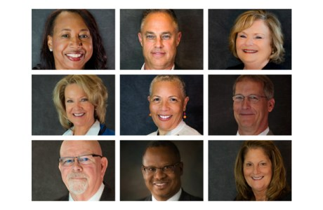 a collage of our Board of Directors