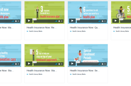 screenshot of health insurance now episodes