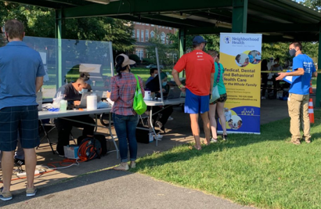 Neighborhood Health Holds a Community COVID-19 Testing Event