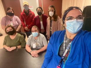 Monroe Health Center Staff group photo